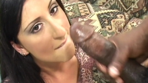 Very hot Luscious Lopez anal interracial