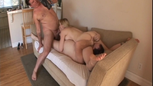 Big ass blonde babe Adrianna Nicole feels in need of doggy