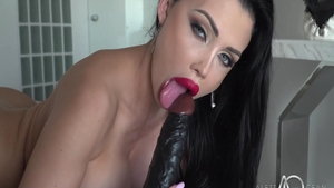Large boobs Aletta Ocean masturbation