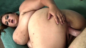 Huge european brunette has a passion for plowing hard HD