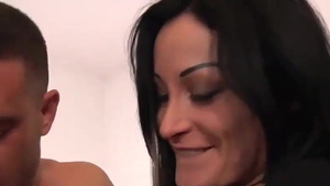 Rough real fucking in company with Mila Ramos