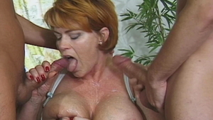 MILF Annabel Massina loves Conny Dachs