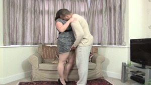 Nailing escorted by huge tits british stepmom