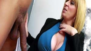 Passionate blonde hair Sara Jay brutal ass to mouth orgasm