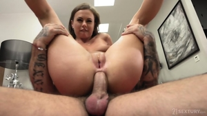Blonde has a passion for hard pounding