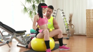 Real sex together with tight czech teen