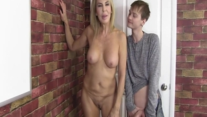 Hot MILF Erica Lauren hard cum in mouth