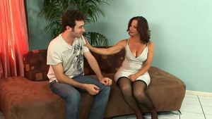 Stepmom Melissa Monet has a taste for nailing in HD