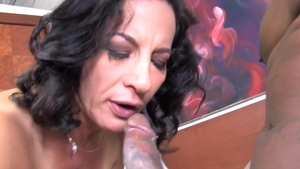 Mature Melissa Monet loves rough nailing in HD