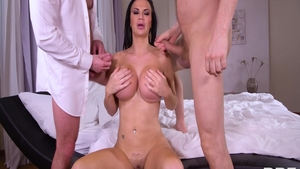Jasmine Jae together with Yanick Shaft raw anal fucked