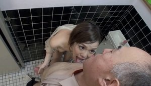 Hardcore sex together with asian girl