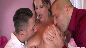 Thomas Stone smash big ass mature Victoria Daniels