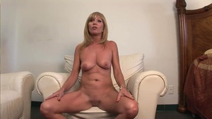 Naked MILF reality during interview