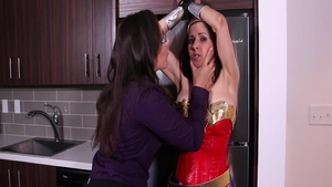 Big tits MILF Sinn Sage goes for hardcore sex in sexy lingerie