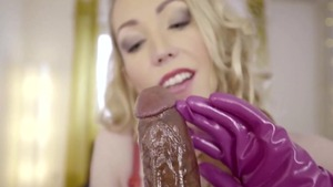 Fetish hard sex along with busty blonde haired Candy May