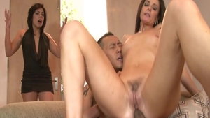 Hottest and big butt India Summer threesome
