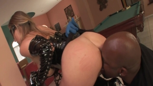 Super hot MILF ass pounded