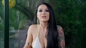 Lena Paul playing with sex toys video