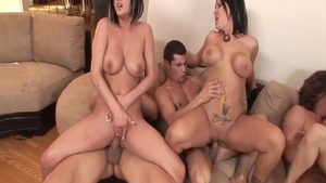 Large boobs MILF Claire Dames helps with hard pounding