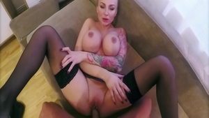 Hottest stepmom Kayla Green goes for blowjob