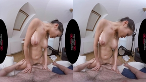 Super sensual & amazing asian first time massage 3d