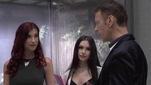 Plowing hard with Anie Darling among Chad Rockwell