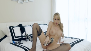 Katie Morgan is so naked blonde babe