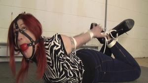 Punishment along with chubby redhead