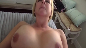 Kinky Brianna Beach mature getting a facial scene
