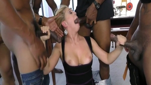 Gangbang together with herie Deville and Cherie Deville