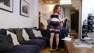 Hard nailining together with redhead Amarna Miller HD