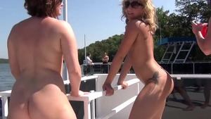 Big tits MILF reality rammed hard at the party