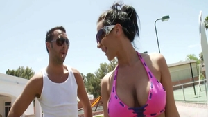 Squirt with busty Jayden Jaymes & Keiran Lee