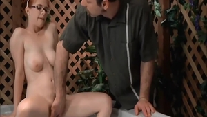 Busty babe Penny Pax raw rides a hard dick in jacuzzi