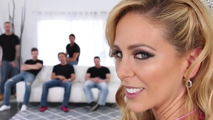 Hard slamming in company with mature Cherie Deville