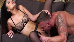 Hot french babe Pussy fucked