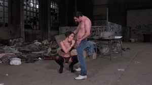 Hard slamming together with Luna Rival and Nikita Bellucci