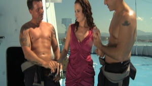 Banging group sex accompanied by Cindy Dollar