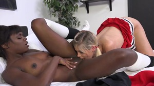 Ana Foxx & Scarlet Red fucked anal