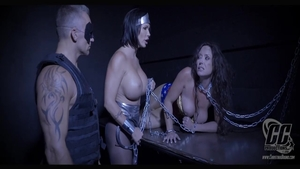 Chained together with Christina Carter with Summer Day