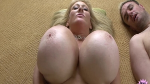 Abbey Lane together with Kayla Kleevage cumshot