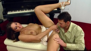 Large boobs and busty Cathy Heaven ass pounding