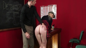 Slamming hard in company with horny blonde Lexi Lou