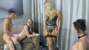 Ashley Fires and Lance Hart scene