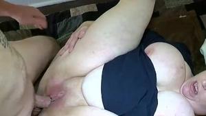 Rimming in the company of big ass redhead