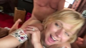 Very sensual Brianna Beach receiving facial porn