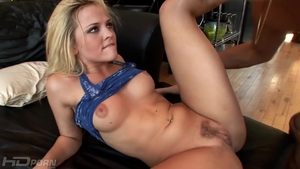 Pornstar Alexis Texas cumshot on the couch