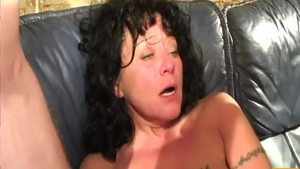 Large tits MILF ass fucking at castings