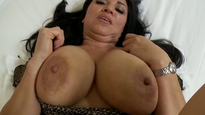 Nice cougar fucked in the ass in HD