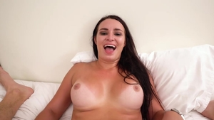 The best sex alongside very hot college student
